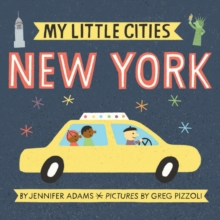 My Little Cities: New York, Board book Book