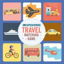 Travel Matching Game : My Little Cities, Game Book