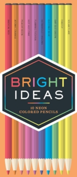 Bright Ideas Neon Colored Pencils: 10 Colored Pencils, Other merchandise Book