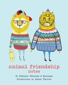 Animal Friendship Notes : 20 Different Notecards & Envelopes, Cards Book