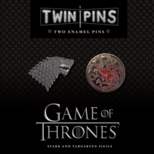 Game of Thrones Twin Pins: Stark and Targaryen Sigils, Other merchandise Book