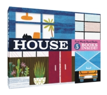 House: First Words Board Books : 5 books inside!, Board book Book