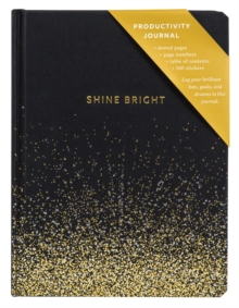Shine Bright Productivity Journal, Notebook / blank book Book