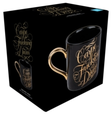 Carpe Fucking Diem Ceramic Mug : Calligraphuck, General merchandise Book