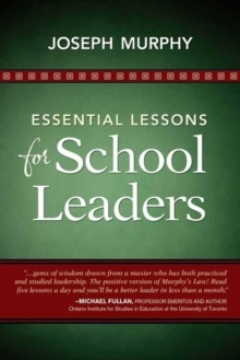 Essential Lessons for School Leaders, Paperback Book