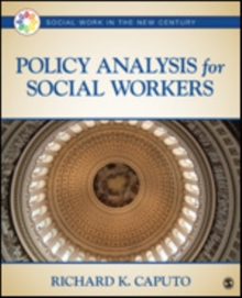Policy Analysis for Social Workers, Paperback / softback Book