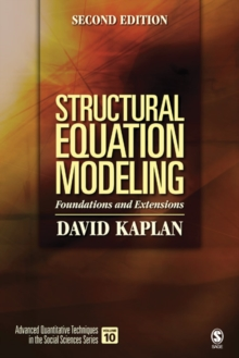 Structural Equation Modeling : Foundations and Extensions, PDF eBook