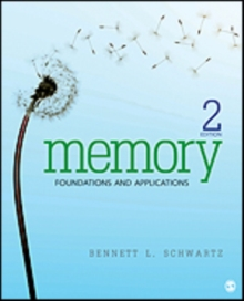Memory : Foundations and Applications, Paperback / softback Book
