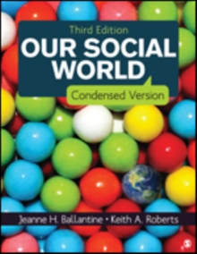 Our Social World : Condensed Version, Paperback / softback Book