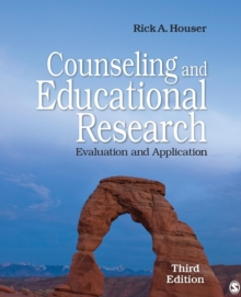 Counseling and Educational Research : Evaluation and Application, Paperback / softback Book