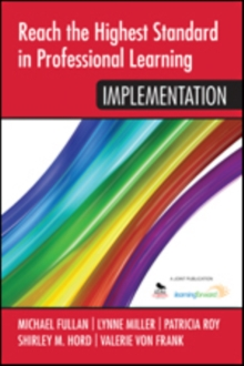 Reach the Highest Standard in Professional Learning: Implementation, Paperback / softback Book