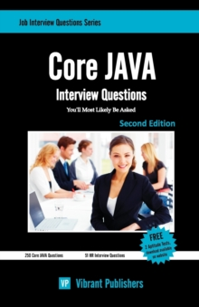 Core JAVA Interview Questions You'll Most Likely Be Asked, Paperback / softback Book