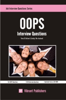 OOPS Interview Questions You'll Most Likely Be Asked, Paperback Book
