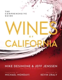 Wines of California : The Comprehensive Guide, Hardback Book