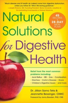 Natural Solutions for Digestive Health, Paperback Book