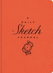 DAILY SKETCH JOURNAL RED, Hardback Book