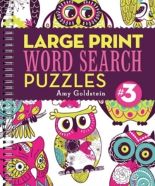 Large Print Word Search Puzzles 3, Paperback Book