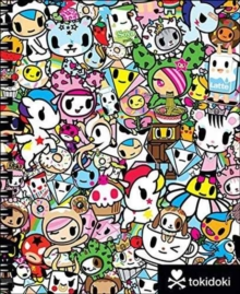 TOKIDOKI SKETCHBOOK WITH SPIRAL, Spiral bound Book