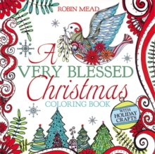 A Very Blessed Christmas Coloring Book, Paperback Book