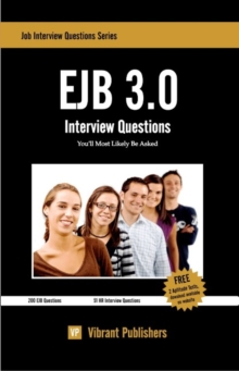 EJB 3.0 Interview Questions You'll Most Likely Be Asked, Paperback / softback Book