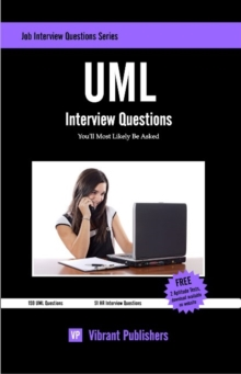 UML Interview Questions You'll Most Likely Be Asked, Paperback / softback Book