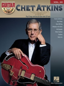 Guitar Play-Along Volume 59 : Chet Atkins, Paperback / softback Book