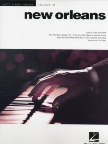 Jazz Piano Solos Volume 21 : New Orleans, Paperback Book