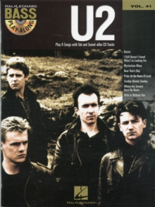 Bass Play-Along Volume 41 : U2, Paperback / softback Book