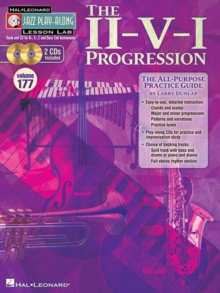 Jazz Play-Along Lesson Lab Volume 177 : The II-V-I Progression, Paperback Book