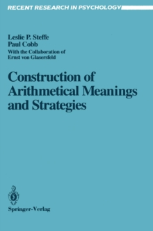 Construction of Arithmetical Meanings and Strategies, PDF eBook
