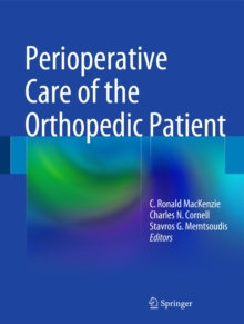 Perioperative Care of the Orthopedic Patient, Hardback Book