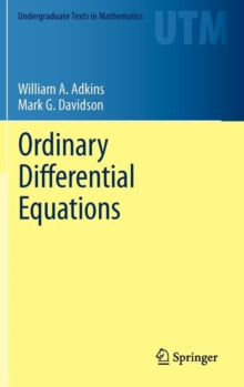 Ordinary Differential Equations, Hardback Book
