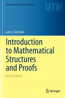Introduction to Mathematical Structures and Proofs, Hardback Book