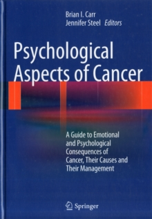 Psychological Aspects of Cancer, Hardback Book