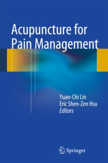 Acupuncture for Pain Management, Paperback / softback Book