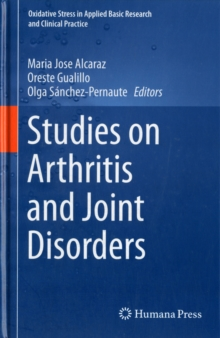 Studies on Arthritis and Joint Disorders, Hardback Book