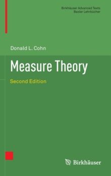 Measure Theory : Second Edition, Hardback Book