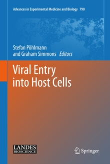 Viral Entry into Host Cells, Hardback Book