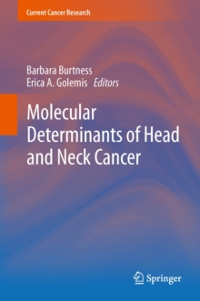 Molecular Determinants of Head and Neck Cancer, Hardback Book