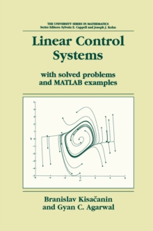 Linear Control Systems : With solved problems and MATLAB examples, PDF eBook