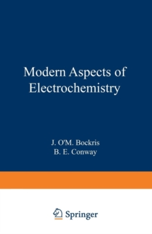 Modern Aspects of Electrochemistry : No. 8, Paperback / softback Book