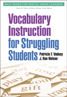 Vocabulary Instruction for Struggling Students, Paperback / softback Book