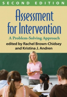 Assessment for Intervention, Second Edition : A Problem-Solving Approach, Hardback Book