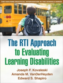 RTI Approach to Evaluating Learning Disabilities, Paperback / softback Book