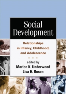 Social Development : Relationships in Infancy, Childhood, and Adolescence, Paperback / softback Book
