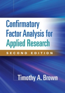 Confirmatory Factor Analysis for Applied Research, Second Edition, Paperback Book