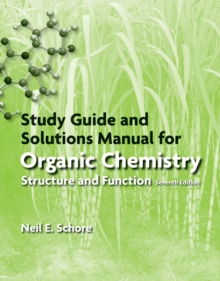 Study Guide and Solutions Manual for Organic Chemistry, Paperback Book