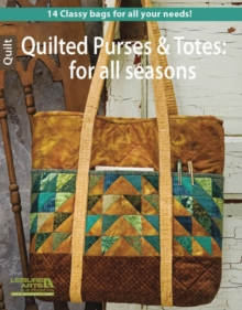 Quilted Purses and Totes, Paperback Book