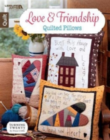 Love & Friendship Quilted Pillows, Pamphlet Book