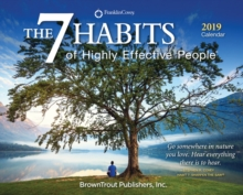 7 Habits of Highly Effective People, the 2019 Day-to-Day Calendar, Calendar Book